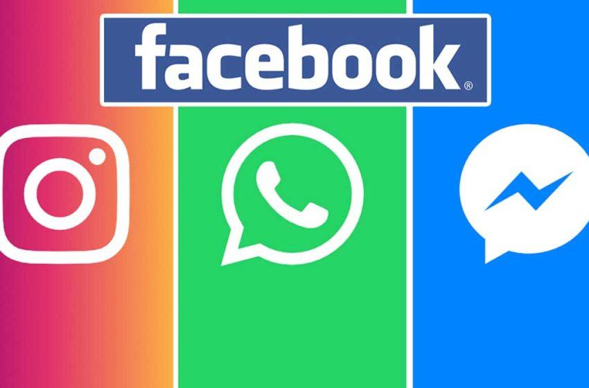 Facebook rancang gabungkan WhatsApp, Instagram dan Messenger