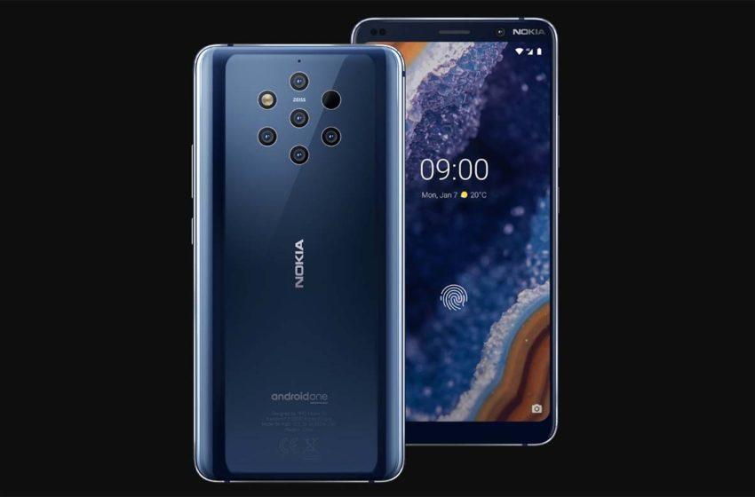 Nokia 9 PureView Dengan 5 Kamera Utama