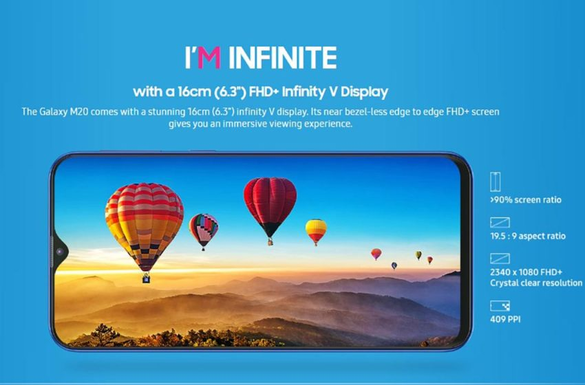 Samsung Galaxy M20 Hadir Di Malaysia Minggu Depan